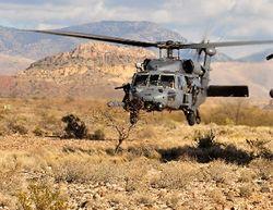 При падении Sikorsky HH-60 в Англии погибли 4 американских военных