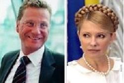 Тимошенко может улететь в Германию с главой МИД – СМИ