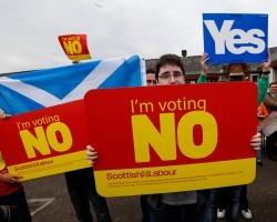 Впервые большинство шотландцев высказалось за независимость от Британии
