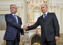 Отказавшейся от СА с Евросоюзом Армении Путин пообещал газ по 189 долларов