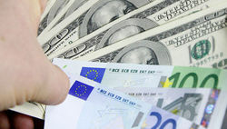 Курс евро снизился до 1.3169 на Forex