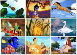 Названы 60 самых популярных в Интернете мультфильмов