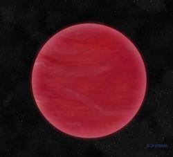 Обнаружена звезда с необыкновенными небесами красного цвета - ученые