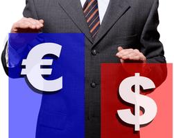 Курс евро повысился 1.2683 на Forex