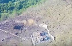 В Сети показали видео после взрыва склада с боеприпасами в Абхазии