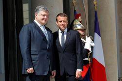 В пику Путину – в Париже прошла встреча Макрона и Порошенко