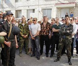 Под контроль ЛНР перешло здание областной милиции