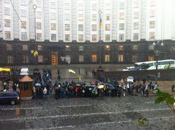 Сотрудники Кабмина Украины не могут попасть на работу – причины