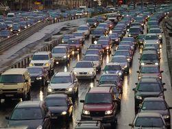 Вечерний Киев остановился в пробках – причины