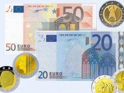 Курс евро на Forex в начале дня повысился к доллару
