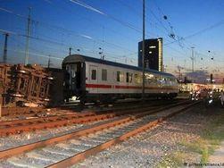 В Германии столкнулись два поезда – 40 пассажиров пострадали