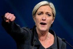 Марин Ле Пен стрижет дивиденды после терактов в Париже