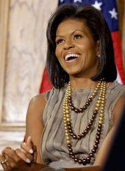 Почему американцы любят Мишель Обаму больше, чем президента
