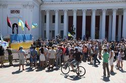 В Одессе в Савченко бросали яйца, но не за «украинский Ростов»