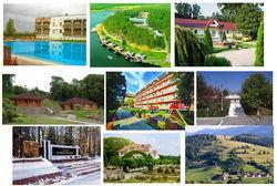 17 популярнейших туристических комплексов Украины июля 2014г.