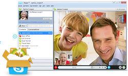 Рост международного трафика Skype в 5 раз превышает телефонную связь