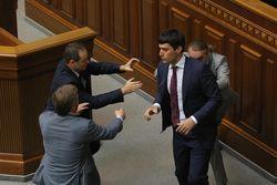 Регионала Левченко выгнали с заседания Верховной Рады