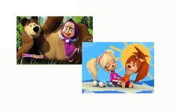 """""""Маша и медведь"""" и """"Барбоскины"""" вошли в 70 популярных мультфильмов в Интернете"""