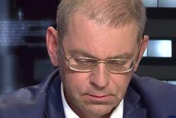 Пашинскому разбили голову бутылкой, депутат отстреливался