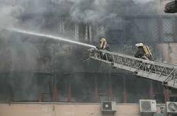 Госслужба ЧС Украины о пожаре в Харькове: Тентов не было в перечне спецсредств