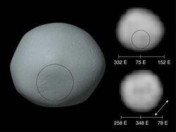 В ближайшие дни можно будет увидеть астероид Паллада на ночном небе