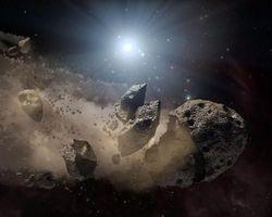 """Звезда, которую """"бомбят"""" астероиды, открывает новые тайны планетарных систем"""