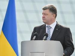 Порошенко принял парад военно-морского флота Украины в Одессе