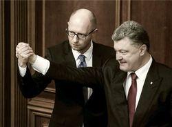 Скрытый конфликт между Порошенко и Яценюком углубляется – СМИ
