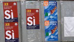 Самые богатые регионы Италии на референдуме тоже захотели суверенитета