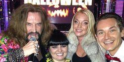 PR в шоу-бизнесе: Волочкова отметила Хэллоуин с Джигурдой в заведении Мадонны