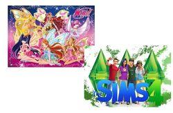 """""""Winx"""" и """"The Sims"""" названы самыми популярными играми для девочек в """"Одноклассники"""""""
