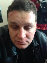 В Киеве задержан майор ВВ, активно избивавший участников Майдана