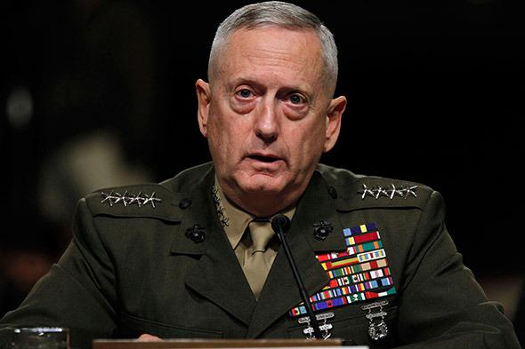 СМИ объявили новым шефом Пентагона генерала по прозванию  «Бешеный пес»