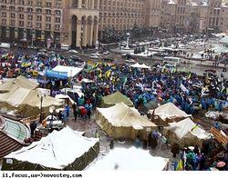 Майдан уходит с центра Киева в Киевскую крепость – СМИ