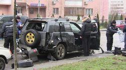 МВД: взрыв внедорожника в Киеве - не теракт