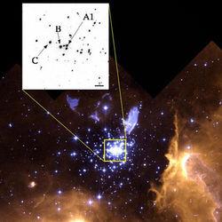 Астрономы спустя 23 года разгадали тайну формирования массивных звезд