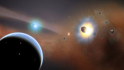 Ученые ищут неизвестную экзопланету, которая смогла притянуть к себе целые стаи комет