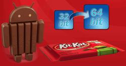 64-битный Android обрадовал биржу - акции Google подорожали на 0,11%