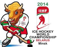 Эмблема ЧМ-2014 по хоккею