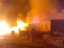 ЧП: в столице Узбекистана сгорел военный склад