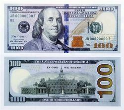 ФРС и посольство США в Украине презентует новую 100-долларовую купюру