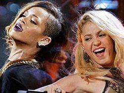 Шакира с Рианной анонсировали совместный клип в стиле эротика