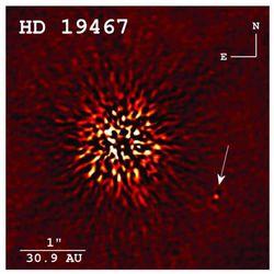 Астрономам впервые удалось сделать фотоснимок коричневого карлика