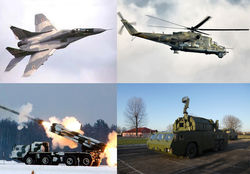 Украина хочет вывезти из Крыма значительную часть своих вооружений