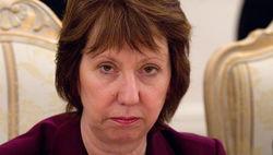 Эштон призывает власти Киева разрешить конфликт на Востоке мирным путем