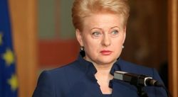 ООН не может быть оперативной при нынешнем формате - Грибаускайте