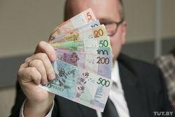 Узнать номинал новых белорусских рублей можно на ощупь