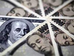 Курс доллара снижается против иены на 0,02% на Форекс перед данными США