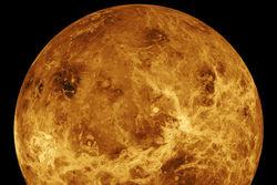 Загадочный теплый пояс обнаружен в атмосфере Венеры