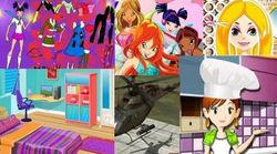Определены лучшие игры для девочек в Интернете: Winx и Одевалки - лидеры
